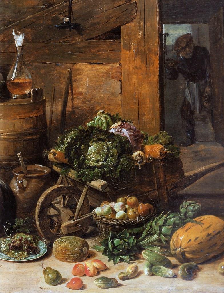 David Teniers d. J., Inneres einer Küche mit alter Frau, d…   Flickr