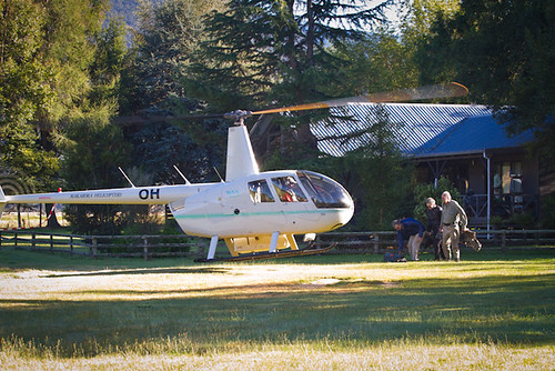 Cedar Lodge Helicopter Fly Fishing | by caddiseug