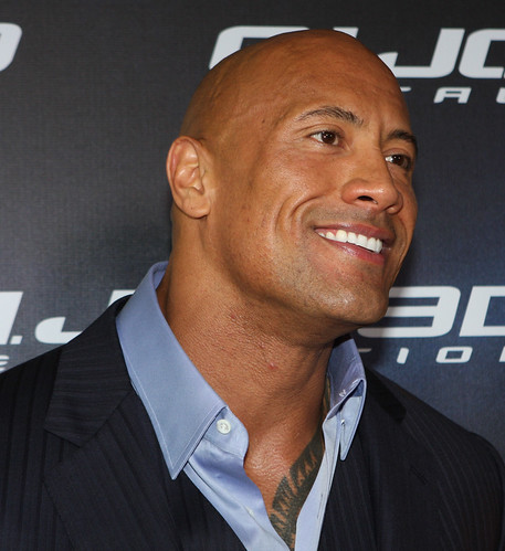 Dwayne Johnson G I Joe Retaliation Red Carpet Movie
