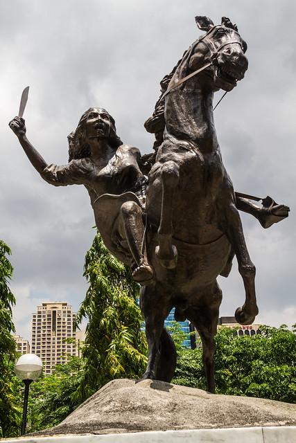 Gabriela Silang Monument  Flickr - Photo Sharing!