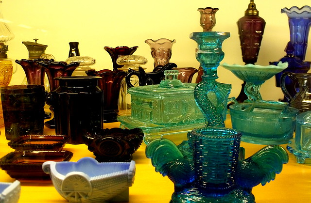 glass collection ~  Museum of Jewish Heritage, NYC