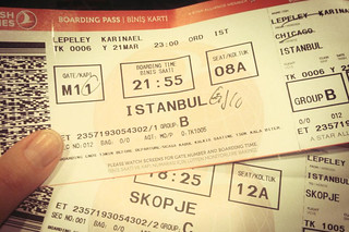 Karina's Plane Tickets | by goingslowly