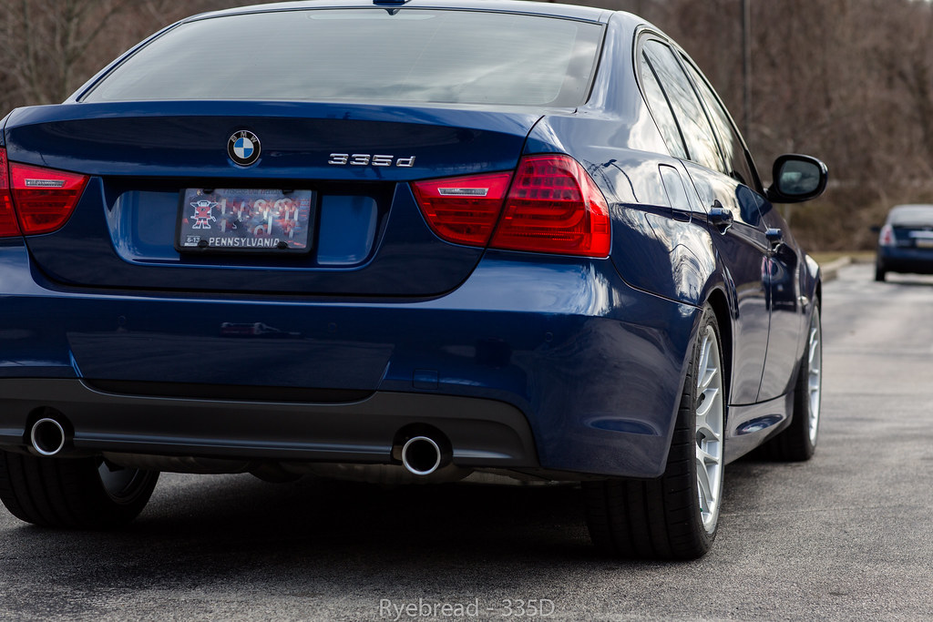 Bmw 335d With Oem Sport Suspension F 235 40 18 18x8 5 Et Flickr