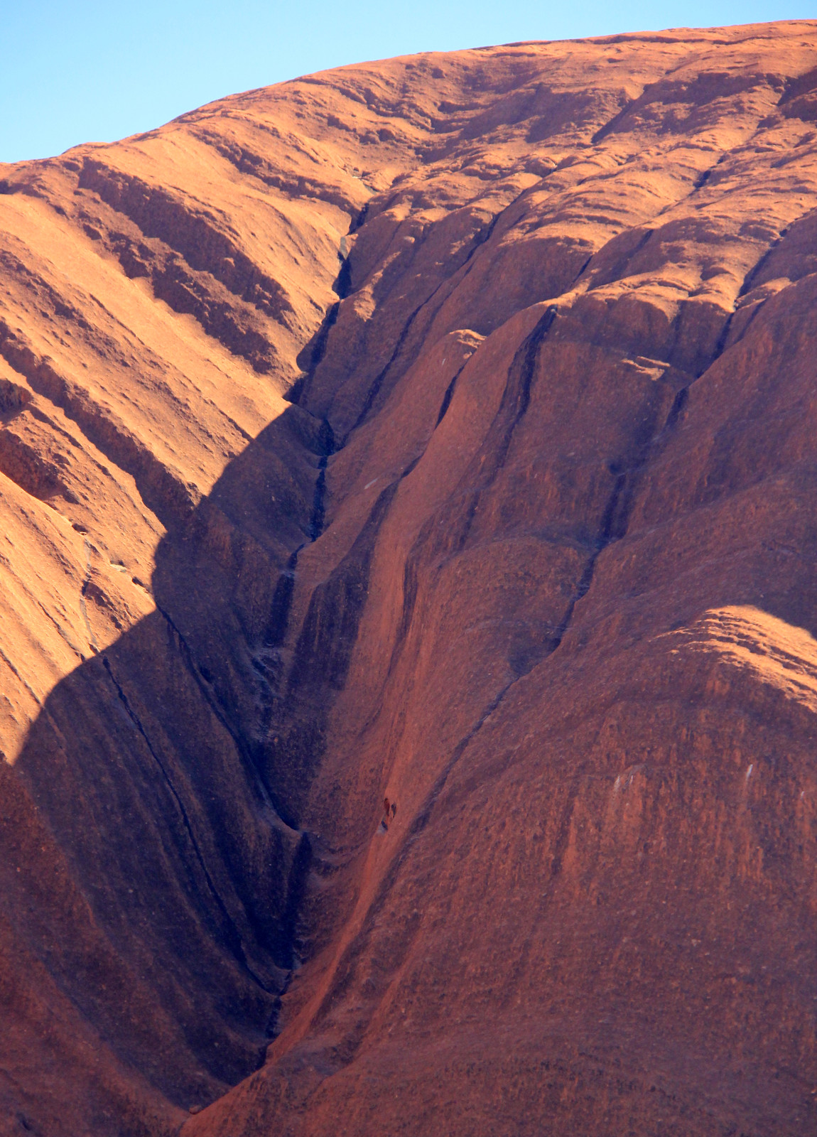 Ayers Rock Geology Dry Waterfall Ayers Rock