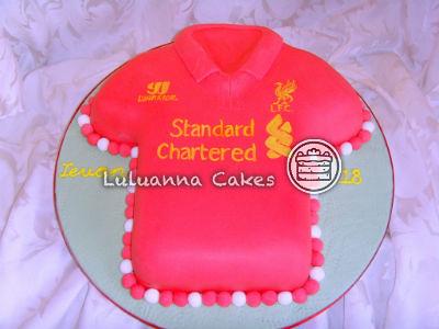 Liverpool fc Shirt Liverpool fc Shirt Cake