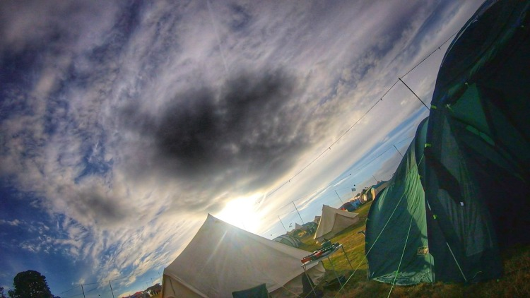 Camp Bestival tents