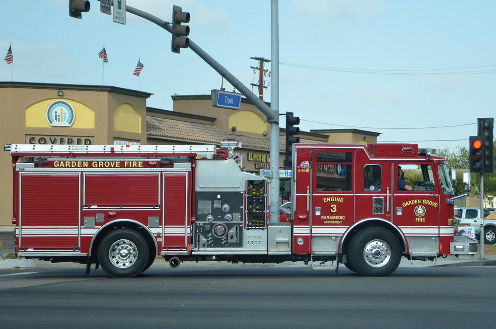 Garden Grove Fire Department Engine 3 Navymailman Flickr