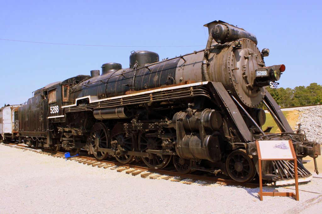 Cn 5288 Steam Locomotive Tennessee Valley Railroad Museu