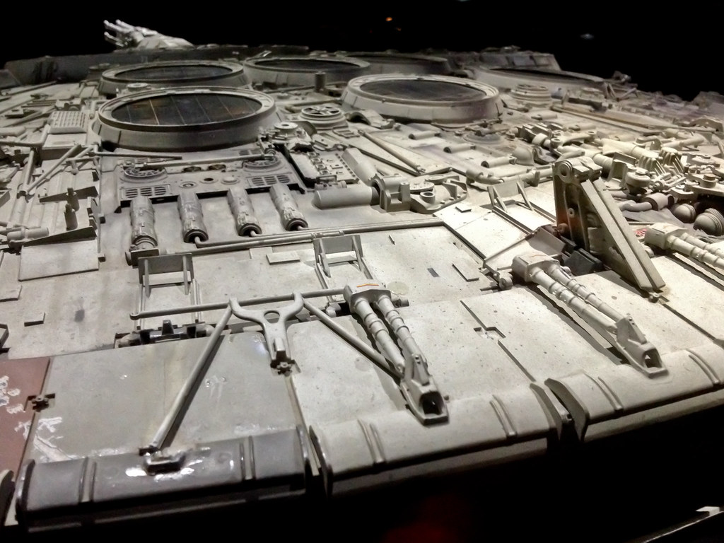 Millennium Falcon Vintage Model Used In Filming 162438