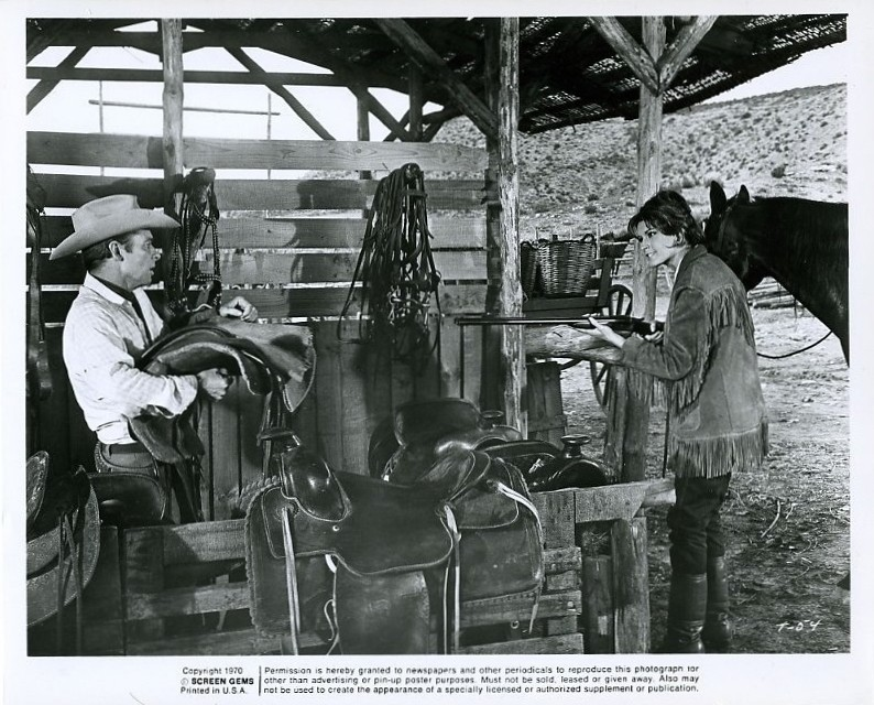 Audie Murphy Diana Lorys The Texican 1966 From Tv