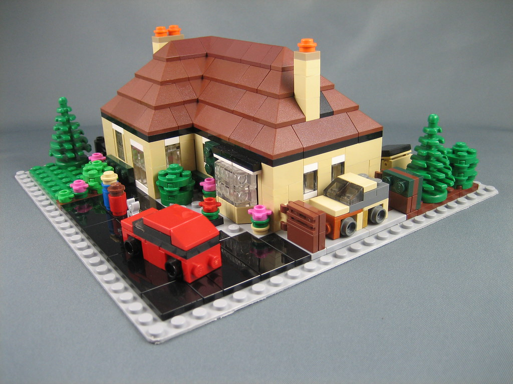 another mini lego house this was a christmas present for. Black Bedroom Furniture Sets. Home Design Ideas