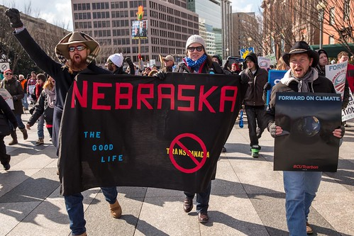 Nebraskans March in Forward on Climate Rally in Washington, D.C. | by Bold Nebraska
