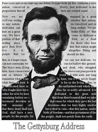 What is the Gettysburg Address?