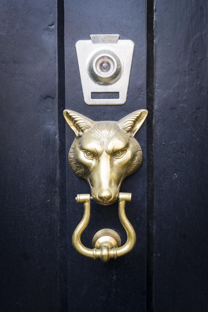 ... Wolf Door Knocker | By Kelhso