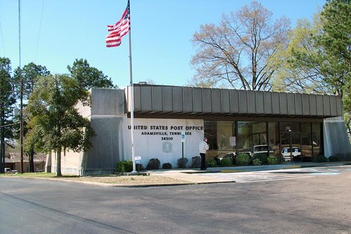 Adamsville, TN post office | by PMCC Post Office Photos