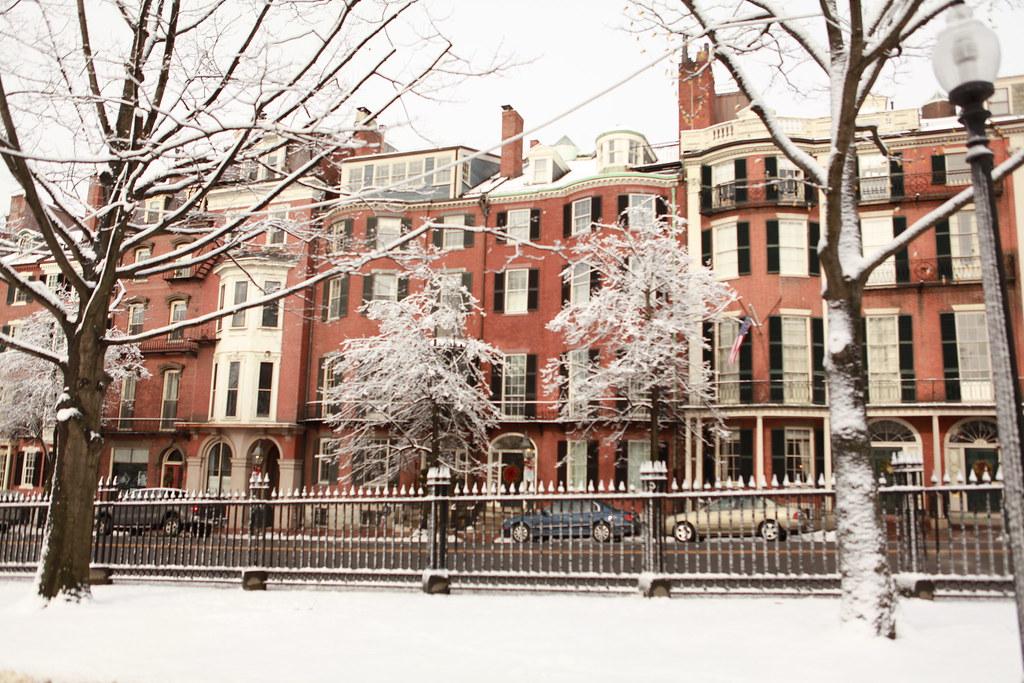 Winter in Beacon Hill, Back Bay, Boston | Massachusetts ...