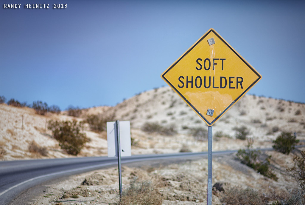 Soft Shoulder | March 10, 2013 - Playing with a recently ...