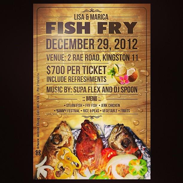 fish fry flyer design babybluedesign www fb com babyblu flickr