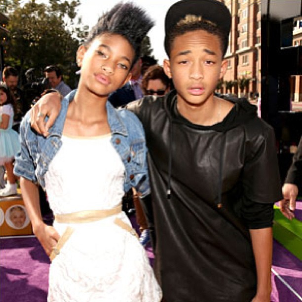 Willow Smith And Her Boyfriend 2013 Jaden and Willow Smith...