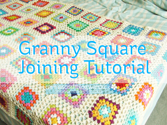 Crochet tutorial: joining granny squares Tutorial updated ...