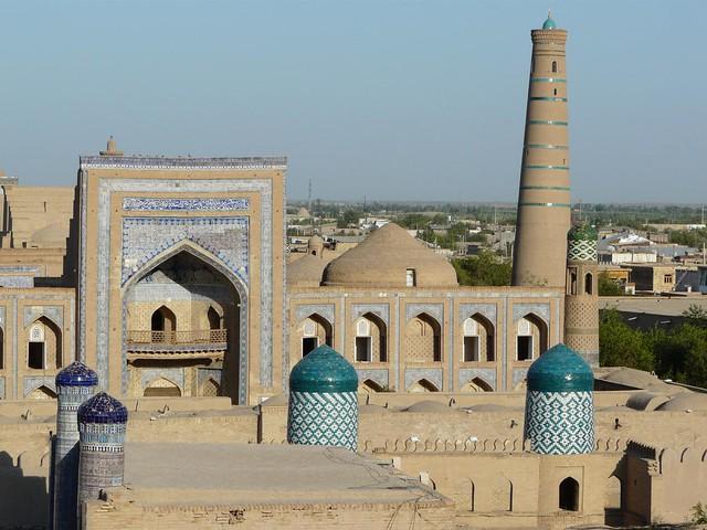 Khiva (Jiva) en Uzbekistán