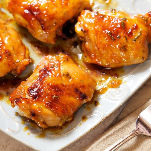 Apricot Glazed Chicken Thighs | Apron Strings | Flickr