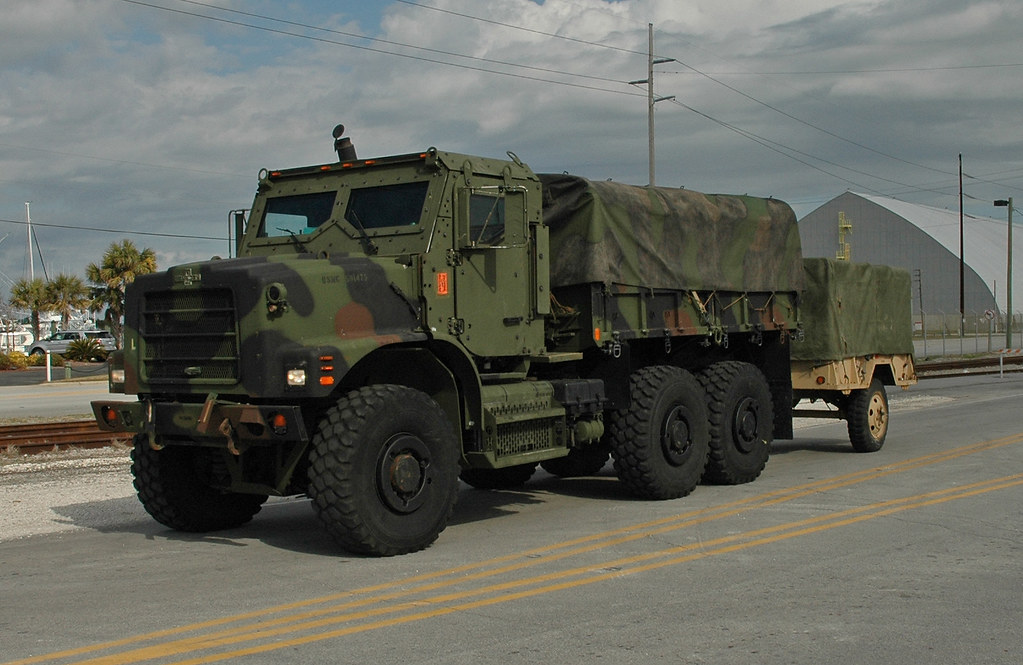 Marine Corps Amk23 Cargo Truck With M105a2 Cargo Trailer By Rcsadvmedia