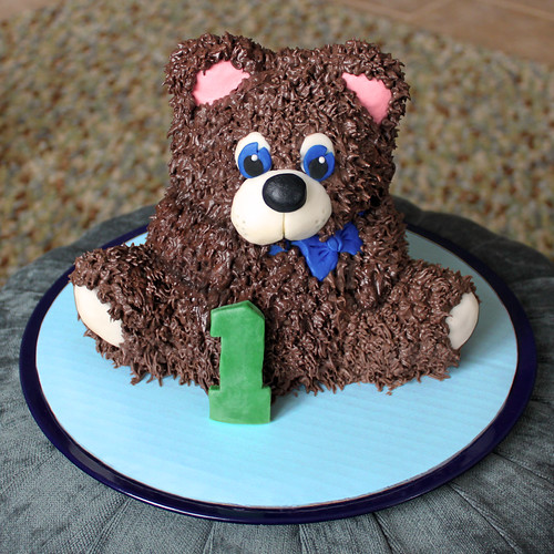 Stand Up Teddy Bear Cake