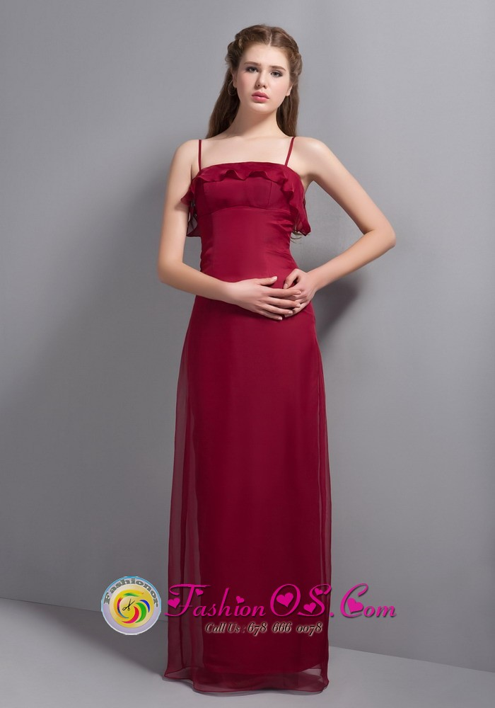 2014 Spring Modern Cute Plus Size Bridesmaid Dresses Wine Flickr