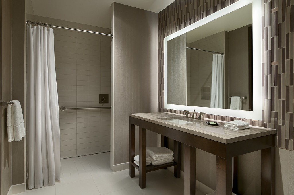 the westin phoenix bath roll in shower by westin hotels and