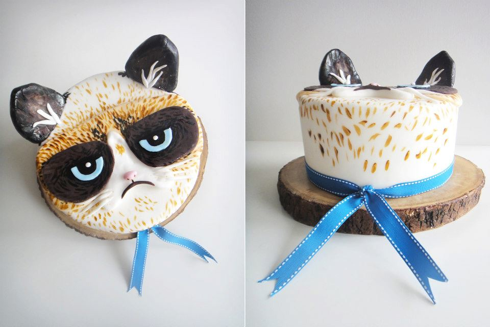 GRUMPY CAT THE CAKE D Tell us what you think do you love Flickr