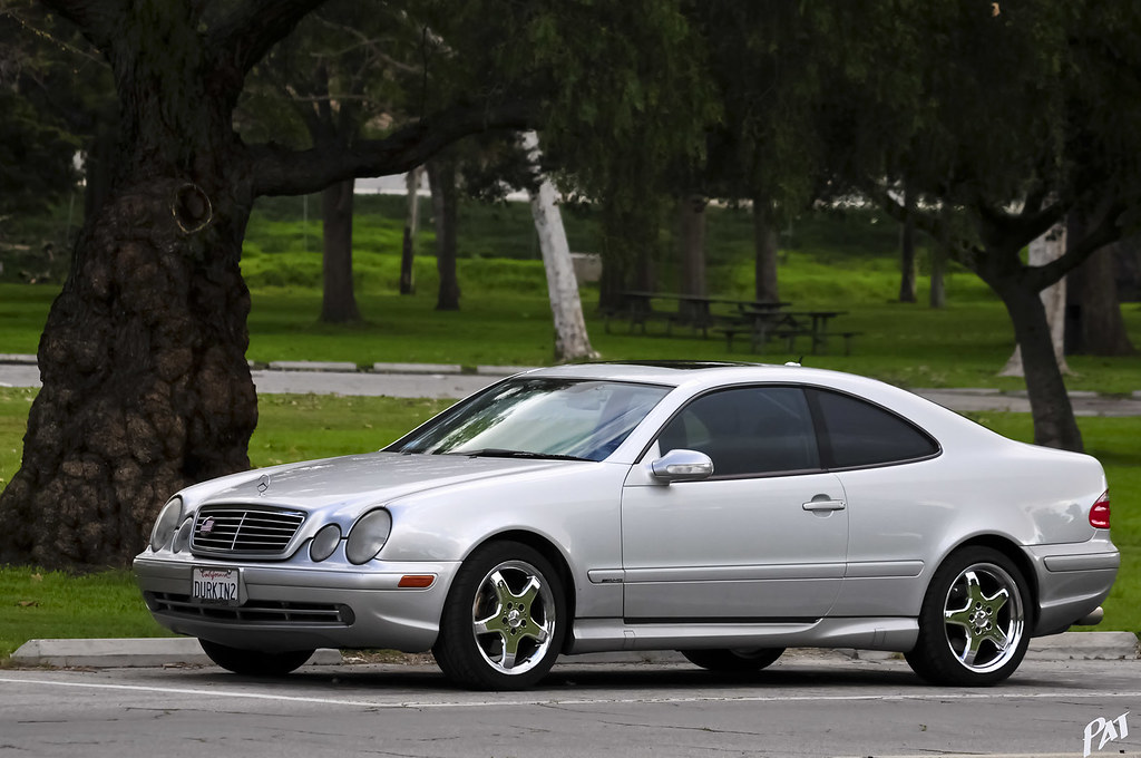 2002 mercedes benz clk430 amg coupe brilliant silver flickr. Black Bedroom Furniture Sets. Home Design Ideas