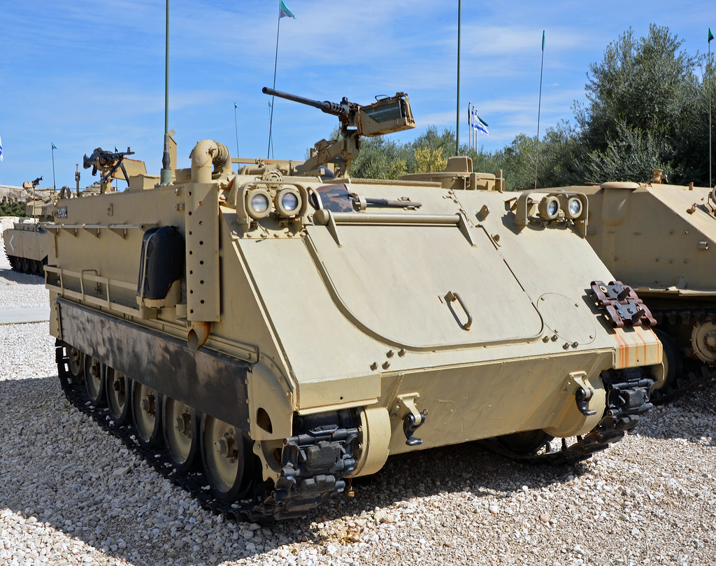 Armored Vehicles For Sale >> IDF M113 A1 Armoured Personnel Carrier | Israel Armoured ...