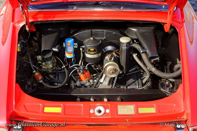 1968 Porsche 912 Coupe Engine