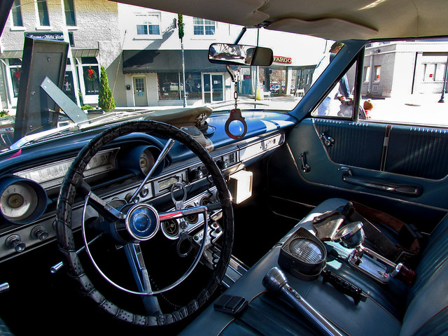 mayberry police car interior flickr photo sharing. Black Bedroom Furniture Sets. Home Design Ideas