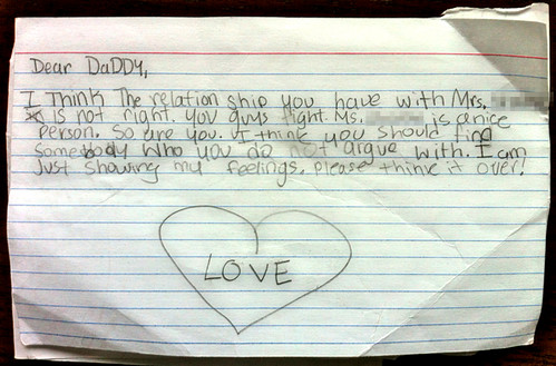 Found on the NYC Subway: Relationship Advice From a Child | by Jeff.Simmermon