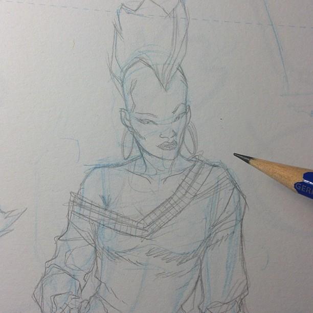 Pencilling comics royal academy of illustration amp design flickr