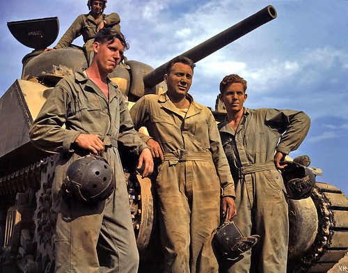 1942 Us Tank Crew Ww2 All Images Posts Are For