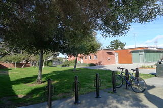 Marina branch bike racks | by meligrosa