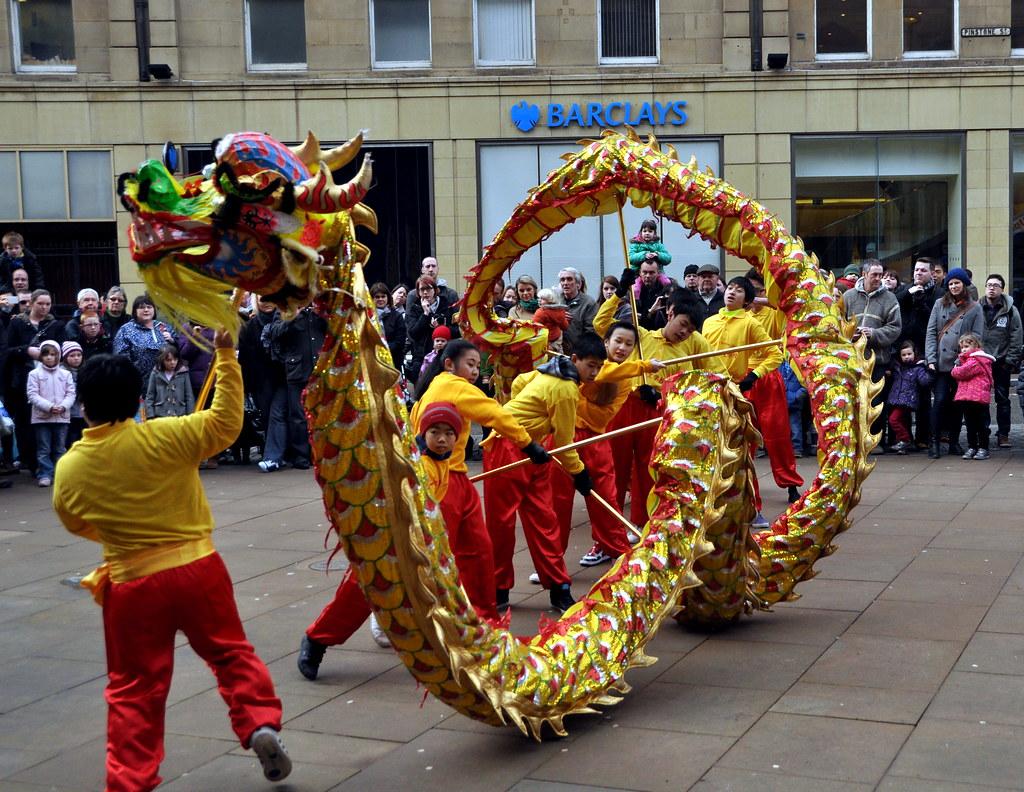 Chinese New Year Dragon Dance ~ Sheffield 2013 | I've ...
