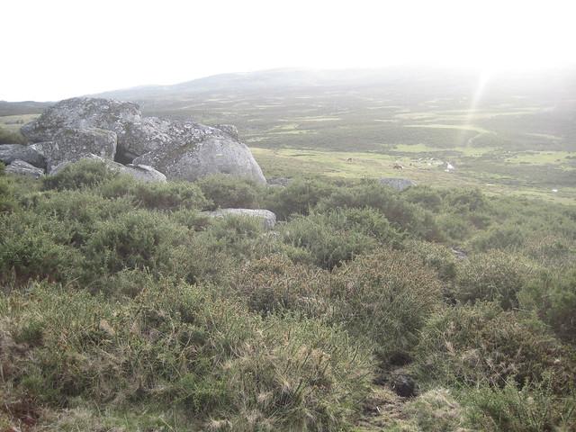 Camino en la Ruta Megalítica por la Sierra del Barbanza