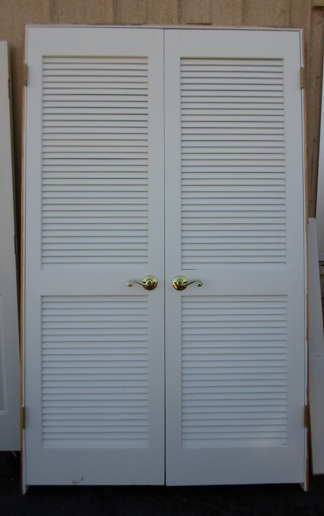 Louvered Closet Doors W Frame C056 For Sale At The Restore