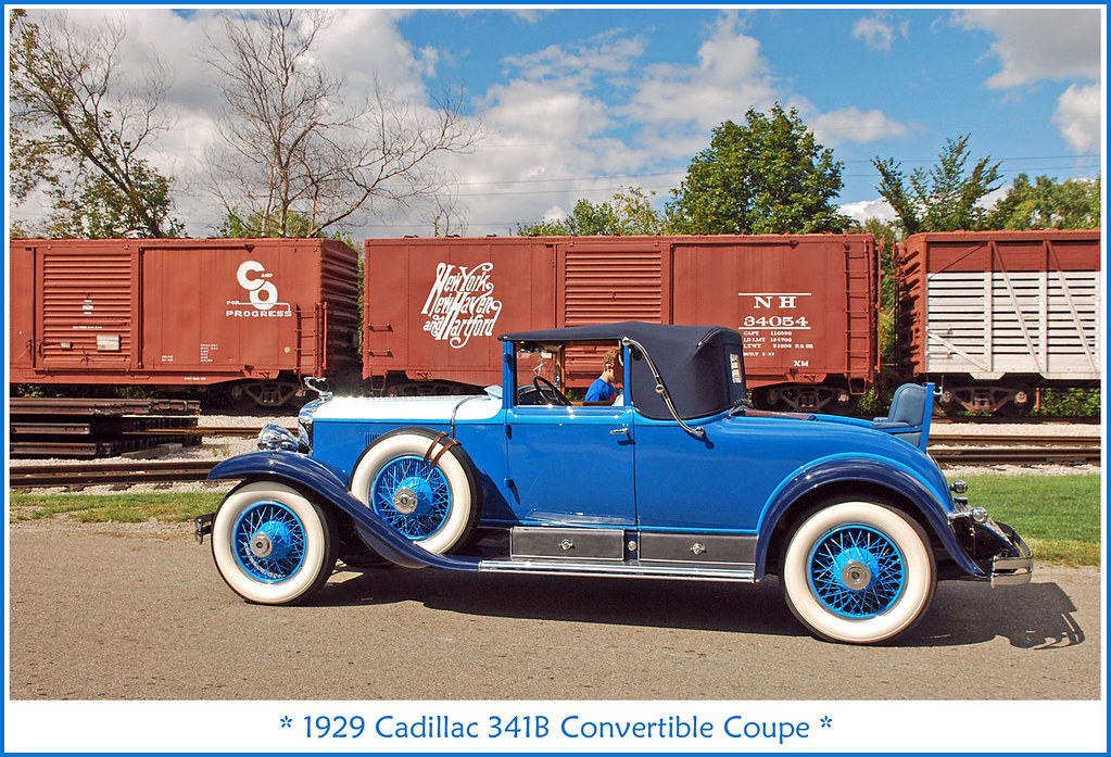 1929 Cadillac 341B convertible coupe   The September 8 ...