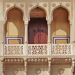 Balcon du Rajendra Pol (City Palace, Jaipur)