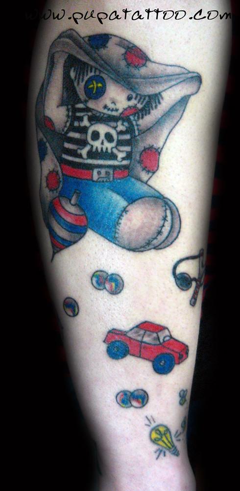 Tatuaje Muñeco De Trapo Pupa Tattoo Granada Pupa Tattoo Ar Flickr