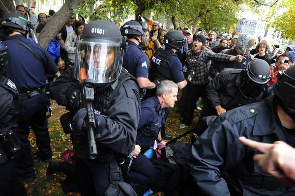 Occupy Denver, Craig F. Walker, The Denver Post