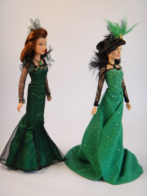 comparing evanora wicked witch of the east dolls