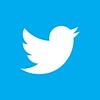 Twitter Logo: twitter-bird-white-on-blue