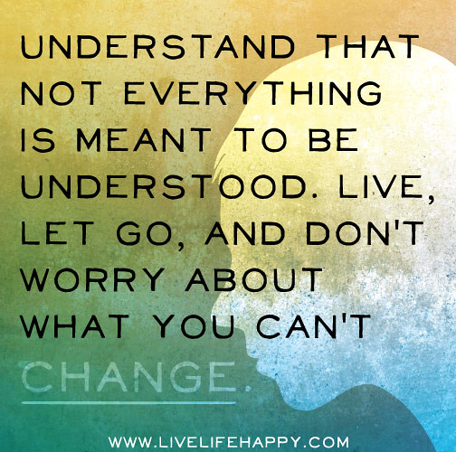 Quotes About Things You Can T Have: Understand That Not Everything Is Meant To Be Understood
