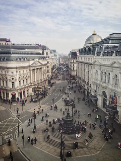 Piccadilly Circus view | by mikerolls